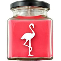 Strawberries 'n' Champagne Square Jar Candle - Suck Uk Gifts