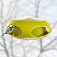 Koziol Pi:p Bird Feeder - Green - Elephant Gifts