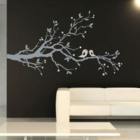 Birds and Blossom Wall Sticker - Dress Gifts