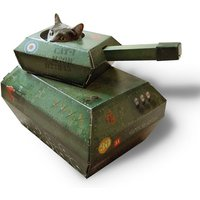 Cat Play House - Tank - Suck Uk Gifts