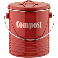 Typhoon Vintage Red Compost Caddy - Kitchen Gifts