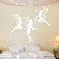 Dancing Fairies Wall Sticker - Dancing Gifts