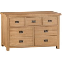 Graceford Ready Assembled 7-Drawer Wide Chest of Drawers