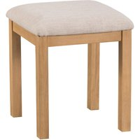 Graceford Dressing-Table Oak Stool