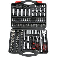 Hilka 110 Piece Socket Set Metric Pro Craft