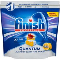 Finish Quantum Max Lemon Dishwasher Tablets - 27 Pack