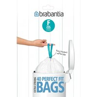 Brabantia PerfectFit 20L Size F Bin Liners - Pack of 40