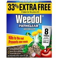 Scotts Pathclear Weedkiller Tubes - 6 Pack