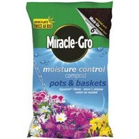 Scotts Miracle Gro Moisture Control Compost - 8 Litre