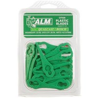 ALM Plastic Mower and Trimmer Blades QT028