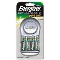 Energizer Battery Charger with 4 x AA 1300mah Rechargeable Batteries