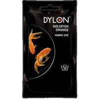 Dylon Hand Wash Fabric Dye - Goldfish Orange