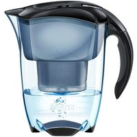 Brita Elemaris Meter Water Filter Jug, Black