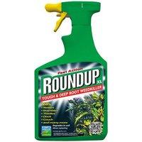 Roundup Tough & Deep Root Weedkiller - 1L