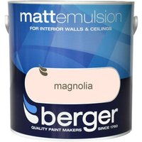 Berger Matt Emulsion - Magnolia, 2.5L