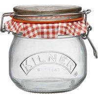 Kilner Preserve 0.5L Clip Top Round Jar