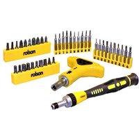 Rolson 42 Piece Precision Tool Set