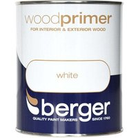 Berger White Wood Primer - 750ml