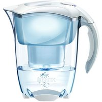 Brita Elemaris Meter Water Filter Jug - White