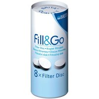 Brita Fill & Go Filter Discs - Pack of 8