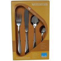 Amefa Monogram Sure 16 Piece Cutlery Set