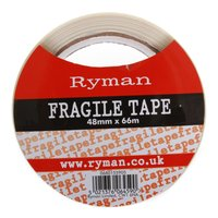 Ryman Fragile Warning Tape