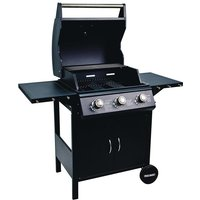 Flamemaster Flame Master Professional Chef 3-Burner Gas BBQ
