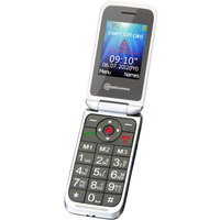 Amplicomms Big Button Clam Shell Mobile Phone - M7000i - White