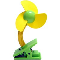 Clip Fan - Yellow / Green