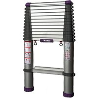 Teletower Aluminium Lightweight Telescopic Ladder 3.2m