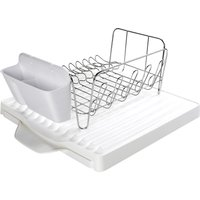 OXO Good Grips 3-Piece Dish Rack Set with Extending Draining Board