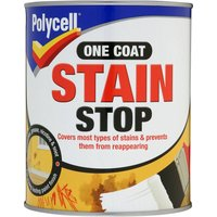 Polyfilla Polycell One Coat Stain Stop 1 Litre - White