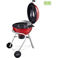 "Outback 22"" Metro Charcoal Kettle BBQ - Red"