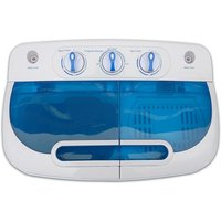 Good Ideas Twintub Washing Machine and Spin Dryer - White & Blue
