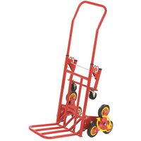 Gablemere Large 2-in-1 Tri-Wheel Trolley and Flat-Bed Cart