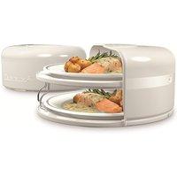 Zenniva2 2-Tier Microwave Meal Stacker