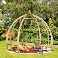 Grange Fencing Grange Apollo Wooden Pergola Garden Feature