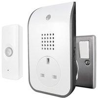 Uni-Com Premium Plug-Through Door Chime