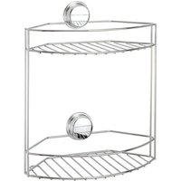 Croydex Stick N Lock 2 Tier Storage Basket