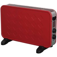 Connect-It 2000W Convector Heater - Red