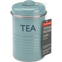 Typhoon Vintage Kitchen Tea Canister - Blue