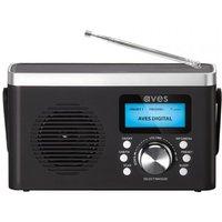 Aves E2 DAB+/FM Digital Radio - Black