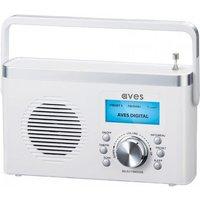 Aves E2 DAB+/FM Digital Radio - White