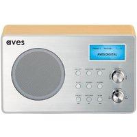 Aves EB1 DAB+/FM Digital Radio with Bluetooth Speaker