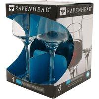 Ravenhead Nova Red Wine Glasses - Set of 4