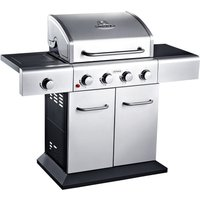 Outback Meteor 4-Burner Gas BBQ - Stainless Steel
