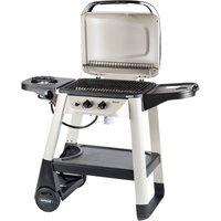 Outback Excel 310 2-Burner Gas Trolley BBQ with Side Burner