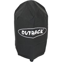 Outback Charcoal Kettle BBQ Cover 57cm Diameter - Black