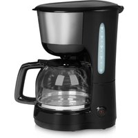 Tower T13001 10 Cup 1000W Filter Coffee Maker - Black/Silver