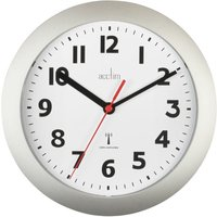 Acctim Parona Radio Controlled Silver 23cm Wall Clock